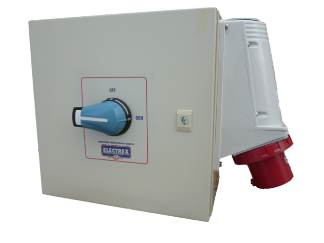 Three Phase Emergency Changeover Switch Firstflex