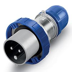 Scame Ip67 Optima Plugs 240v Blue Firstflex