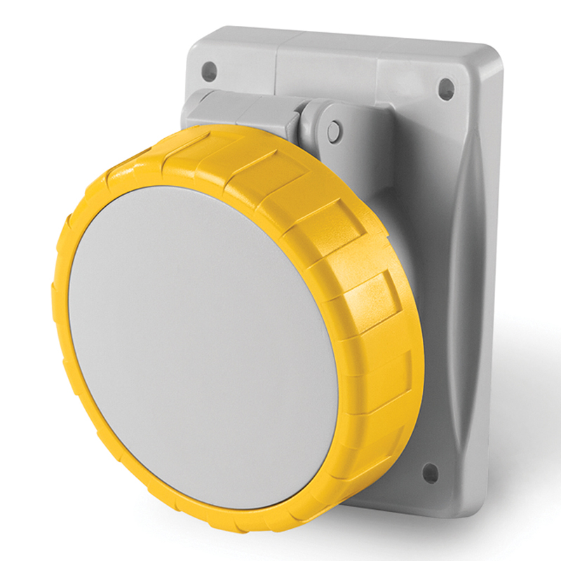 Scame Ip67 Socket Outlets 110v Yellow Firstflex
