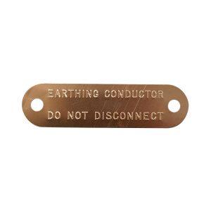 catenary copper tag