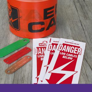 Danger Signs, Warning Tapes & Earth Tags